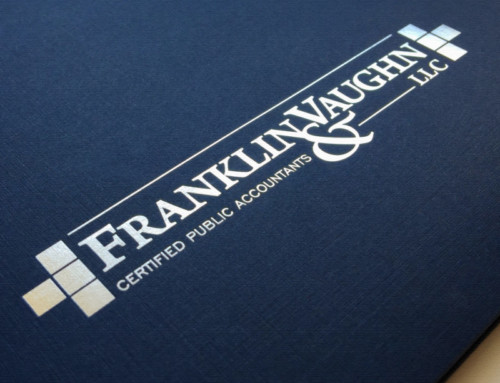 Franklin & Vaughn – Logo Design / Foil Printing